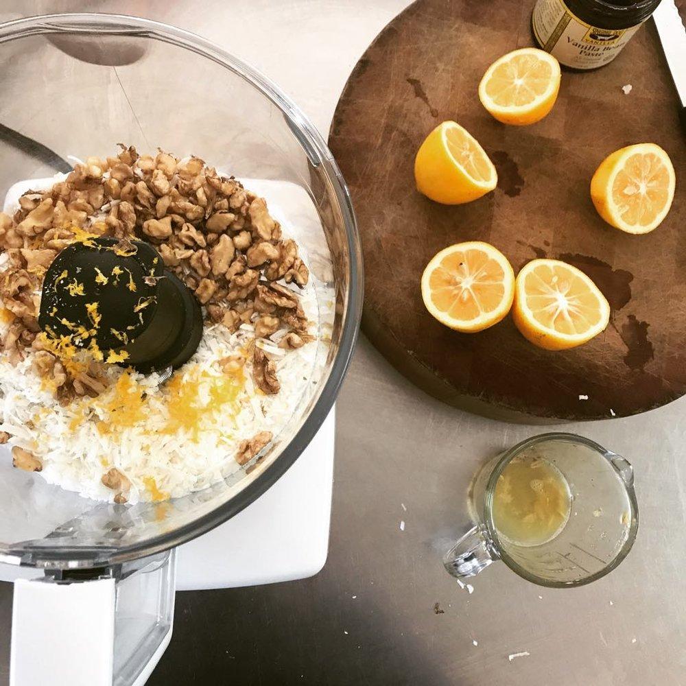 Julia Frances Wellness food prep