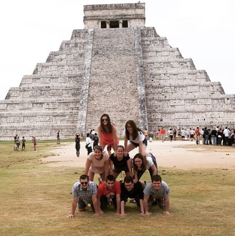 Chichen Itza, 2016.  Glee Club & Chorus