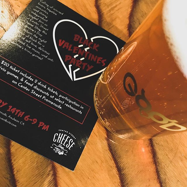 Calling all scorned lovers, hopeless romantics, and strong independent singles! Celebrate your sovereignty and independence on Center Street, in Downtown Anaheim, on Feb. 14th, from 6pm-9pm. There will be live music, Anti-Valentine's Day trivia, 20% discounts at *multiple shops, and TWO free drinks. Need to let a little rage out?  Bring a picture of an ex to burn in our cauldron, purging the bad and bringing good things in for the new year! Make sure to wear your most dramatic/black clothes!  Kody Batchelor will be hosting Anti-Valentine's Day Trivia. *20% discount available at the Cheese Shop, @ink_and_bean , @goodthingsanaheim , @pourvidalatinflavor, and @hummosandpita .