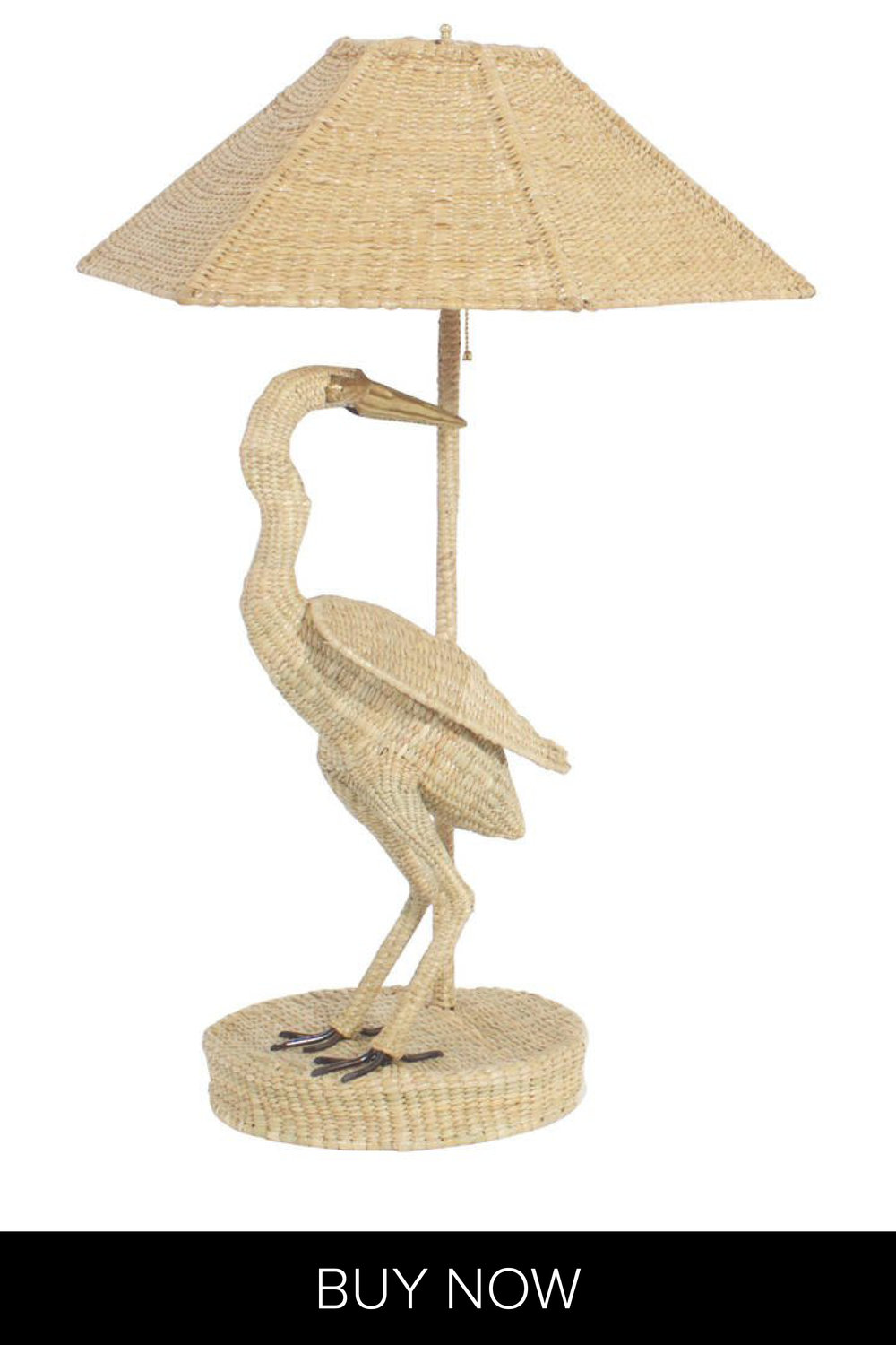 Copy of Pair of Mario Torres Egret Table Lamps