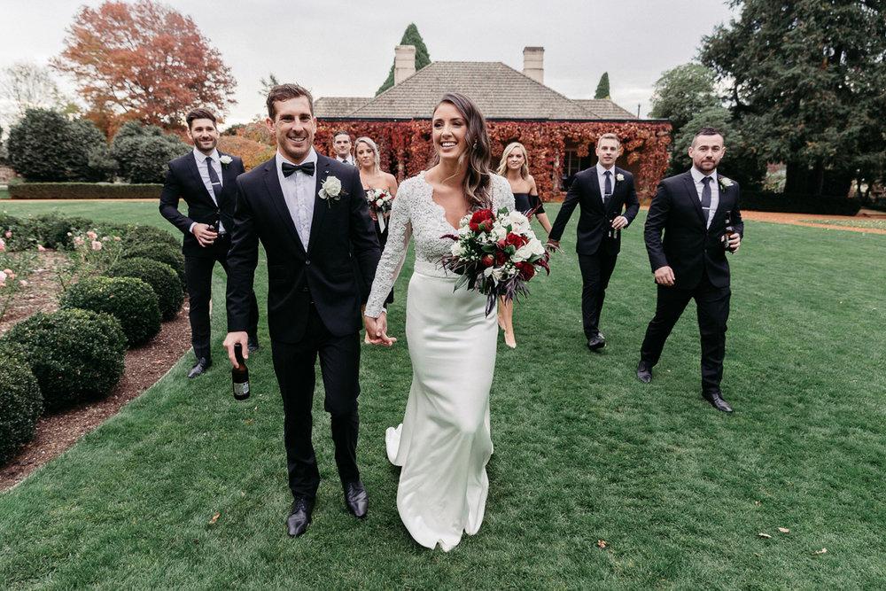 Wedding Photo at Bendooley Estate
