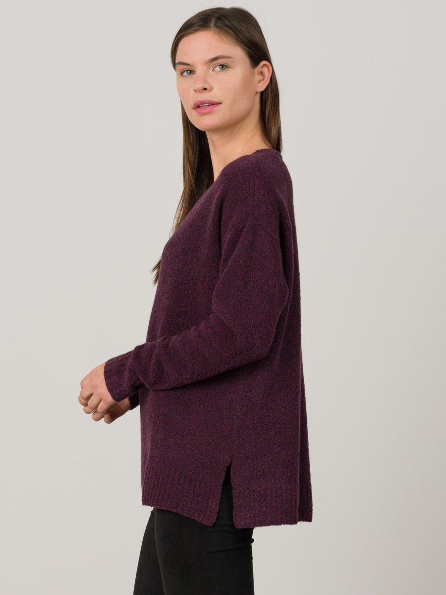 Boucle Vee Neck   Sweater $238