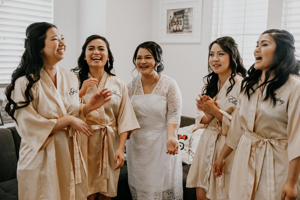 bridal party | Pomona, CA