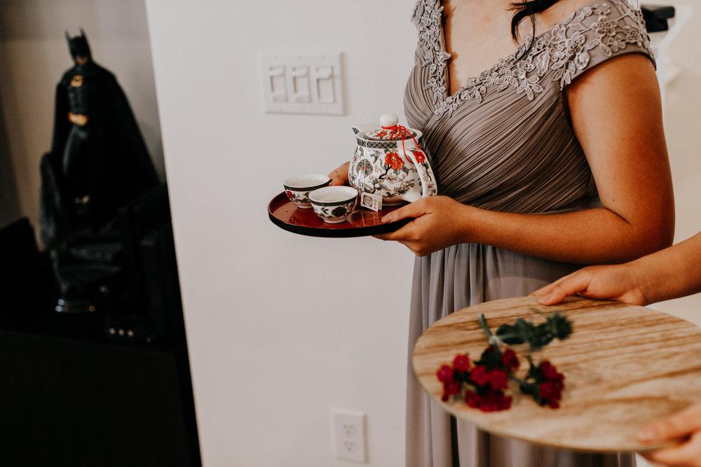 wedding tea ceremony