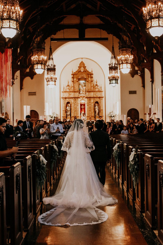 catholic wedding | Los Angeles, CA