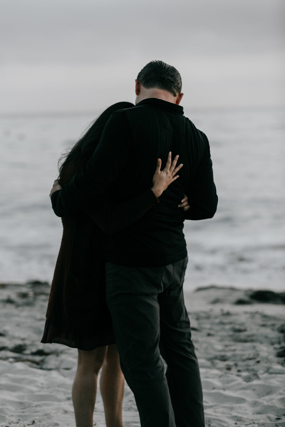 San Diego beach engagement