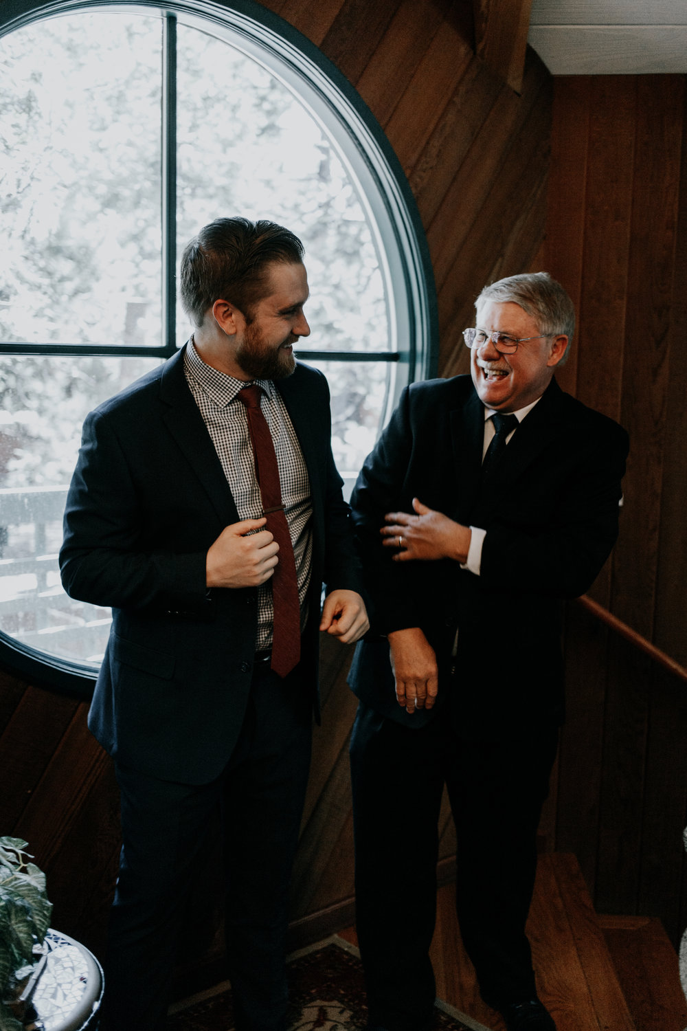 Father son moments | Wedding day