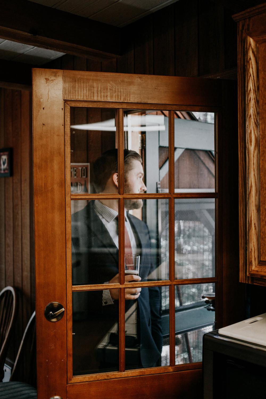 wedding cabin vibes