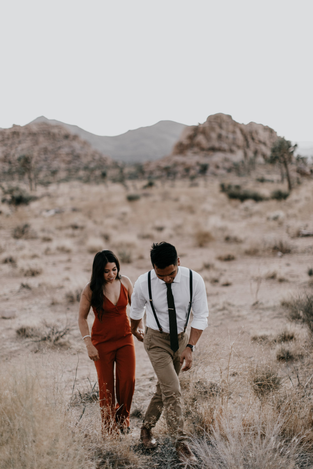 Adventure engagement photos