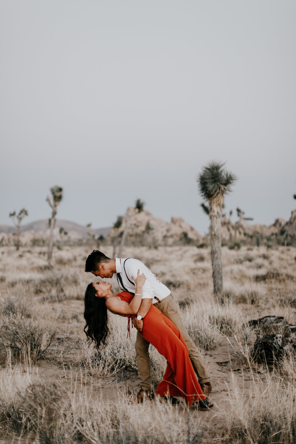 Dancing at sunset in Joshua Tree | Astray Photography