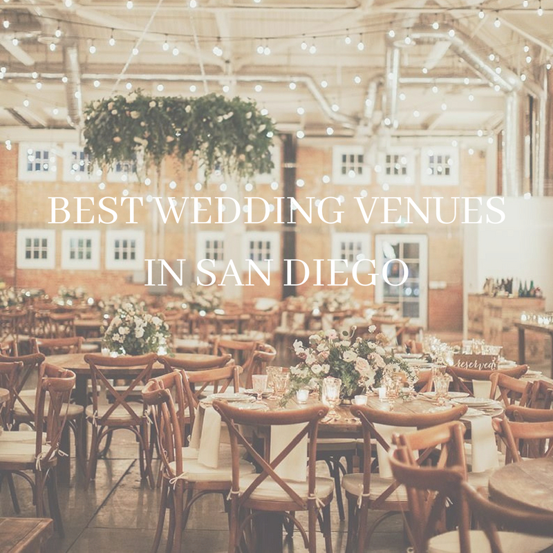 Top San Diego venues to get married at