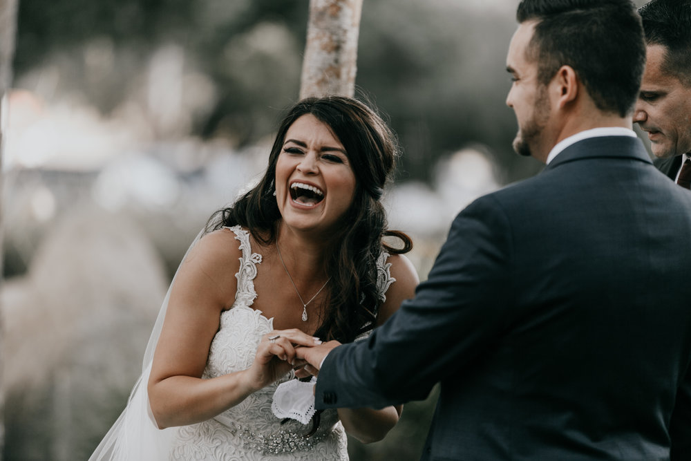 best wedding reactions | wedding photos