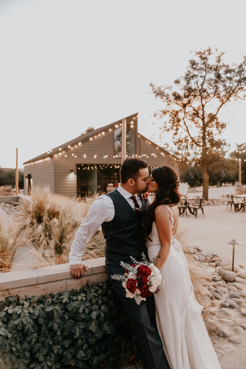 Rustic weddings in the videyards
