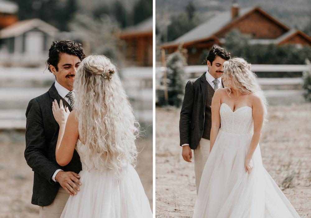 Big Bear wedding photography