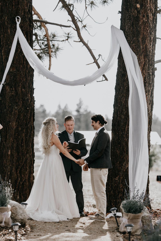 Destination weddings - Big Bear, CA