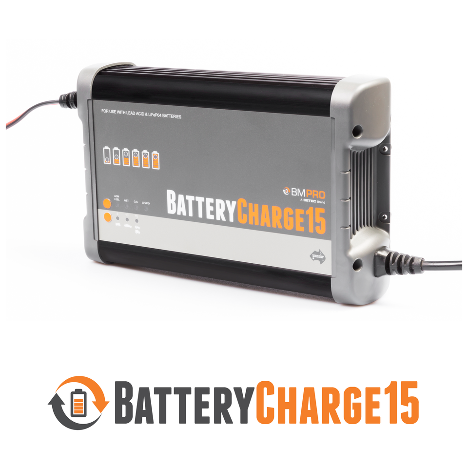 RV caravan battery charger