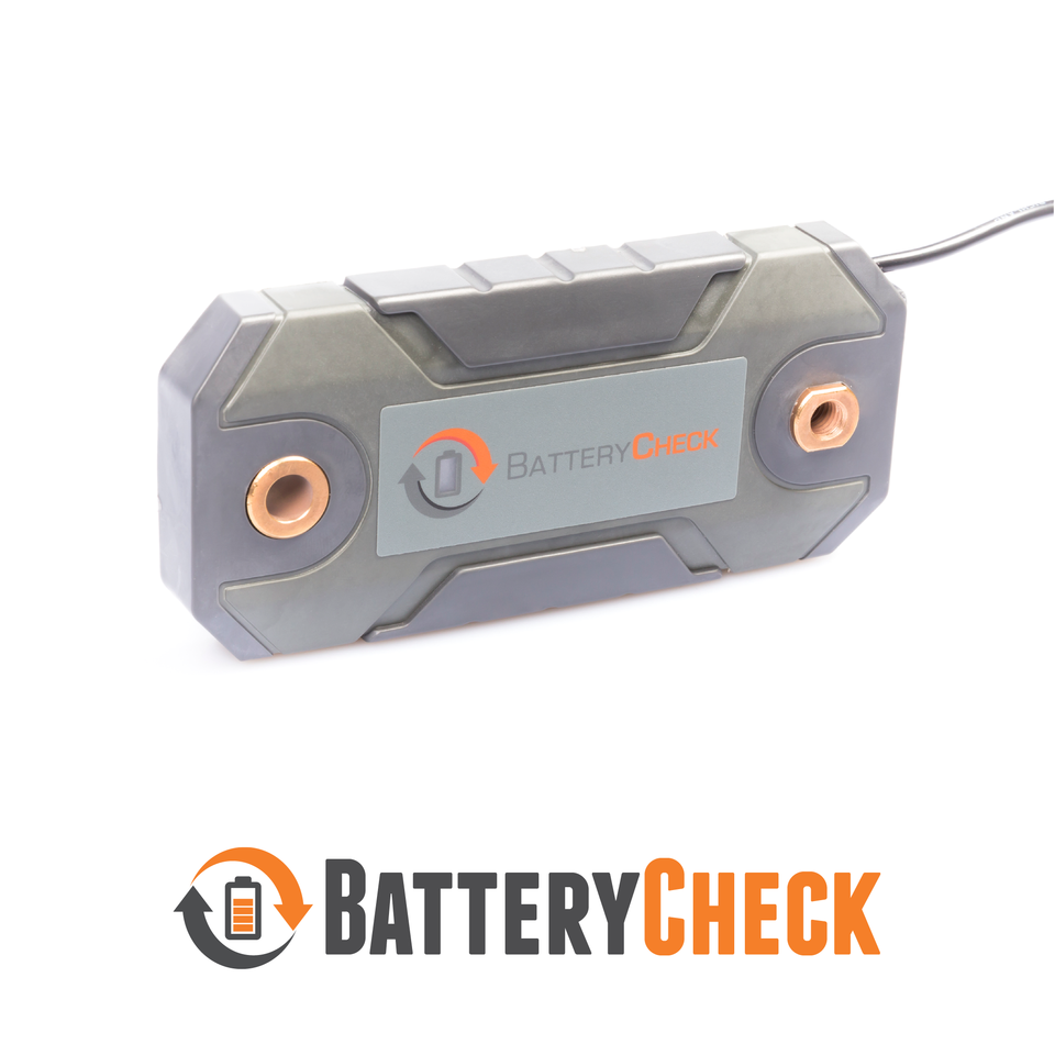 RV caravan battery monitor