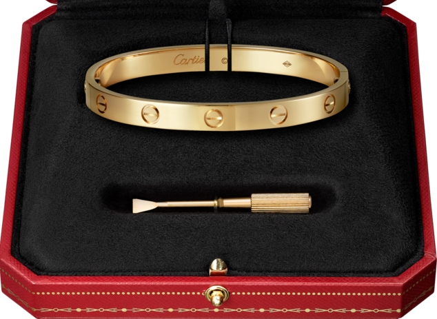 CARTIER LOVE BRACELET DATE ADDED 6/20/17