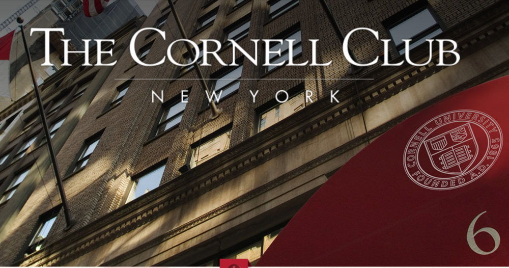 nyc cornell club membership added 6/21/17