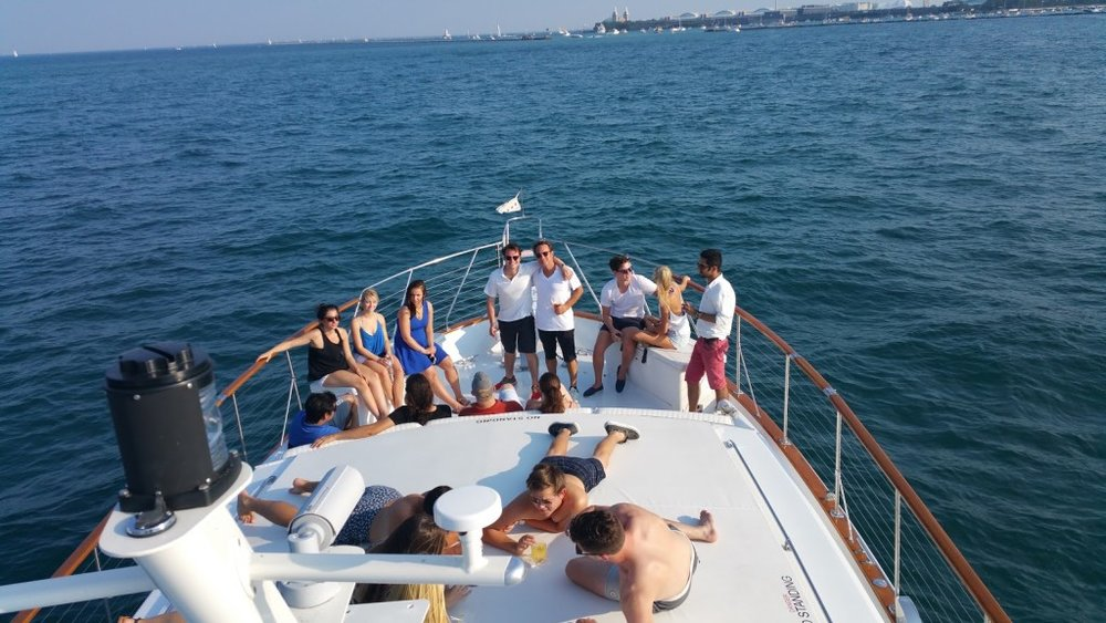 party with close friends on a yacht added 6/25/17