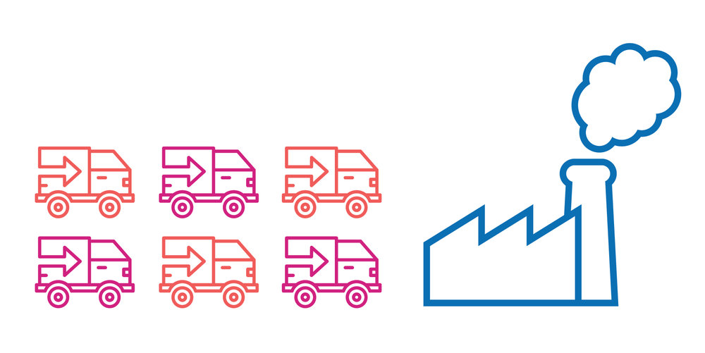 1. Supply Chain Visibility - Eliminate critical blind spots in the supply chain by gaining real-time insight into the location and status of assets across global supplier networks.