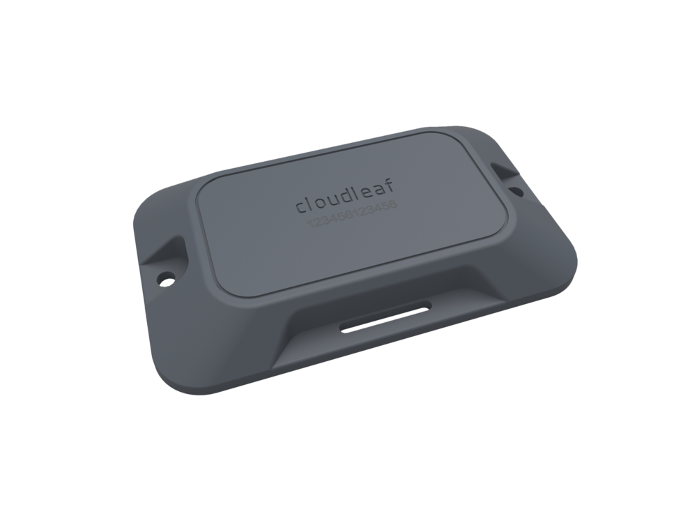 Cloudleaf Sensor™ - Family of long-range sensors securely collect and share location and asset-level information using our patented Bluetooth Smart technology. Provisioned in minutes and managed from the cloud.• Low cost with 2 to 5 year battery life• Indoor, Outdoor and In-Transit coverage• Telemetry (Temperature, Shock, Vibration)