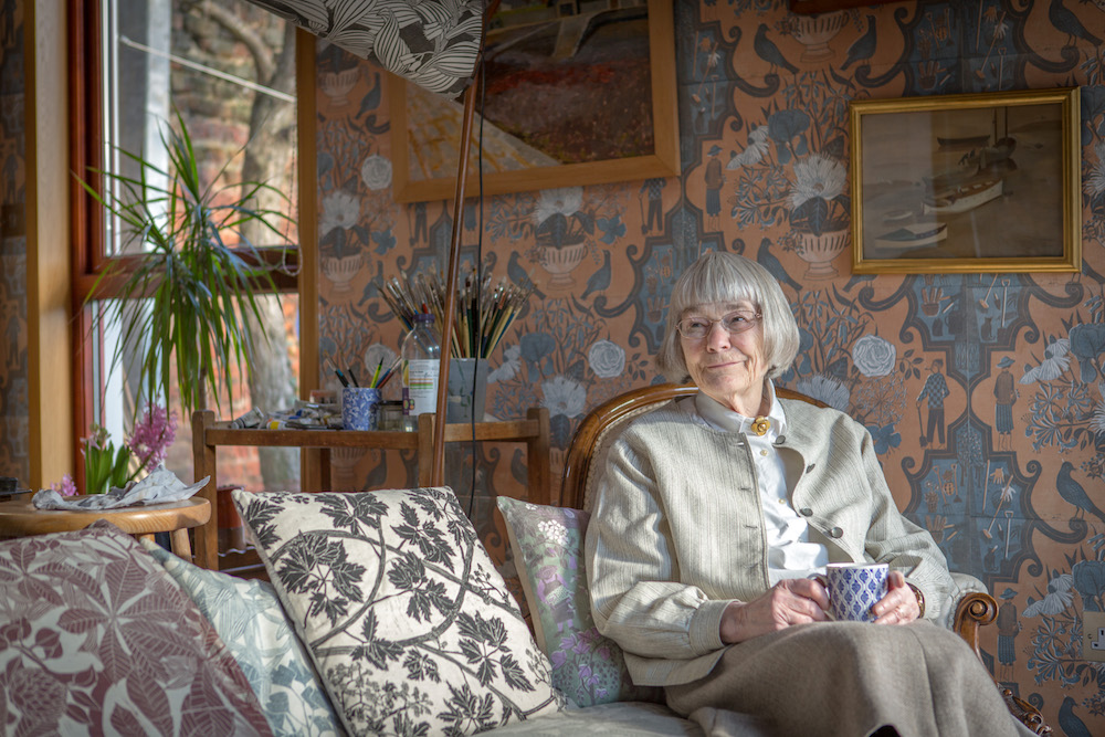 An Afternoon With Wallpaper Artist Marthe Armitage Image Interiors