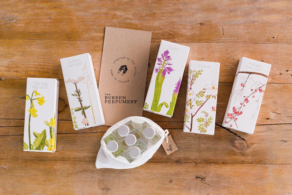 Burren-inspired scents from the Burren Perfumery