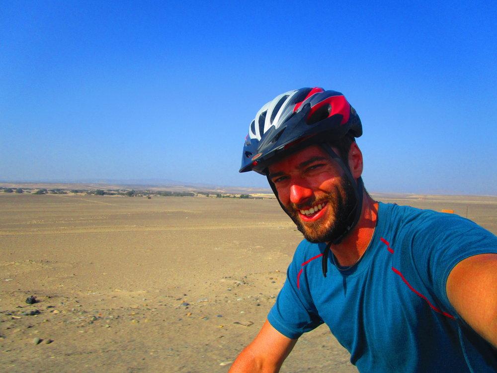 Danny Nazca Desert, Peru