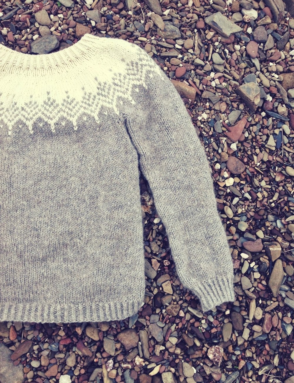 The Fluffy Feather sweater by Veronika Lindberg