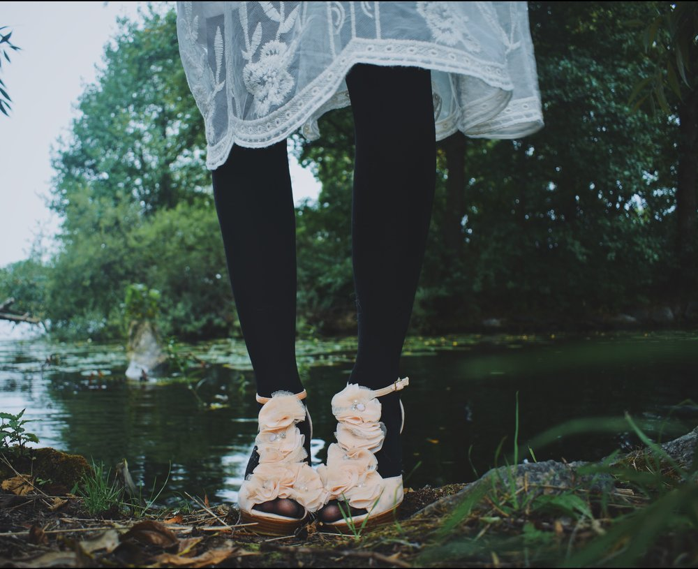 Heartbeats Blog by Kika- Cherishing the inner child, wear your fance shoes outside even when it's raining