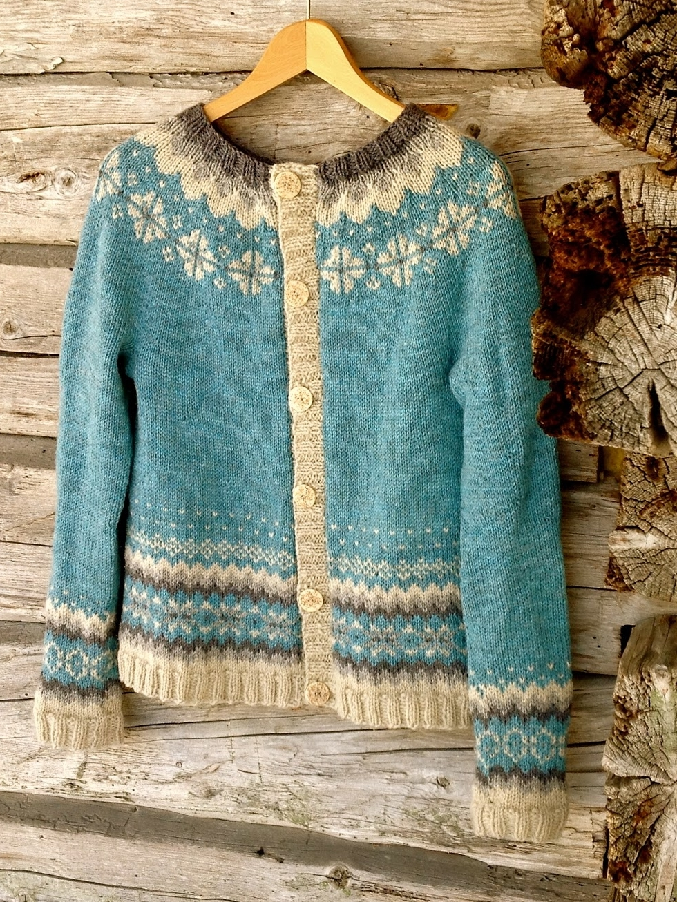 Ariel cardigan knitting pattern