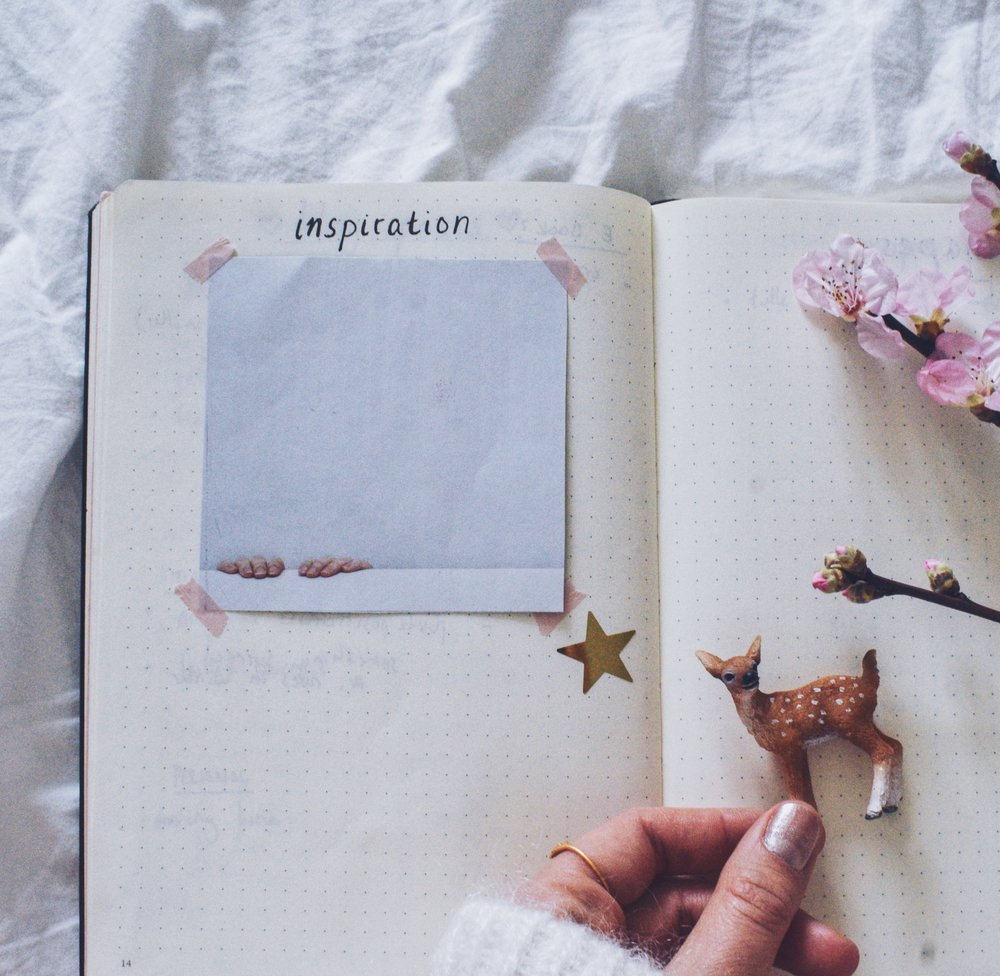 Make your wishes come true with this little trick- Bulletjournal page
