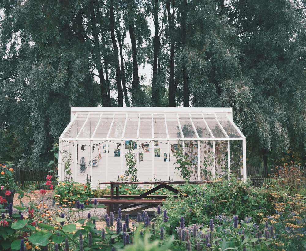 Most Instagrammable spots in Stockholm- Rosendals trädgård Greenhouse