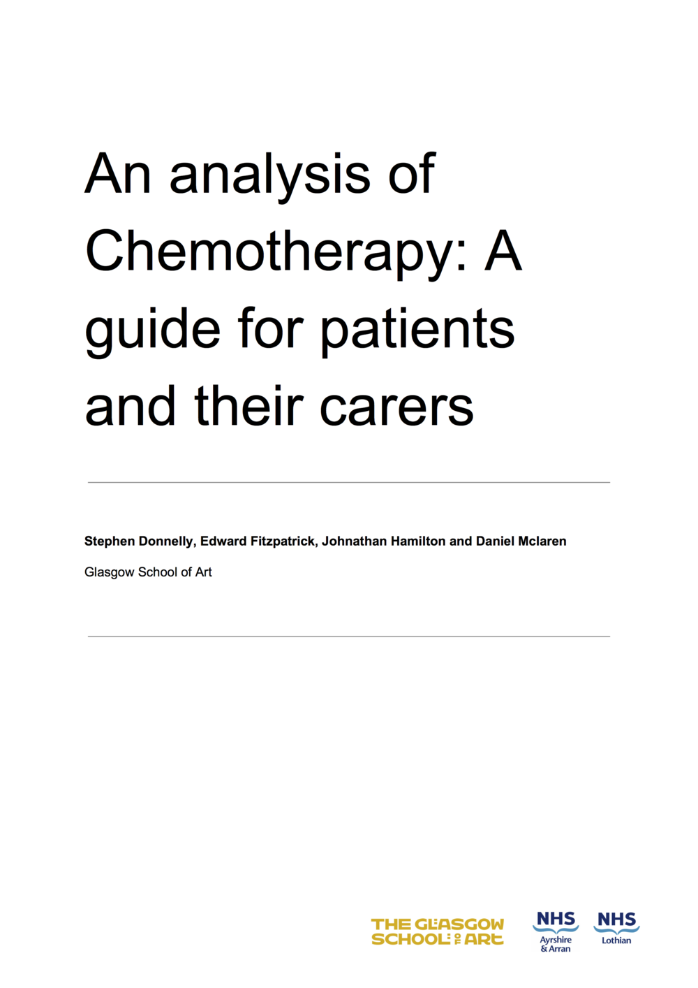 An analysis of Chemotherapy A guide for patients and their carers (dragged).png