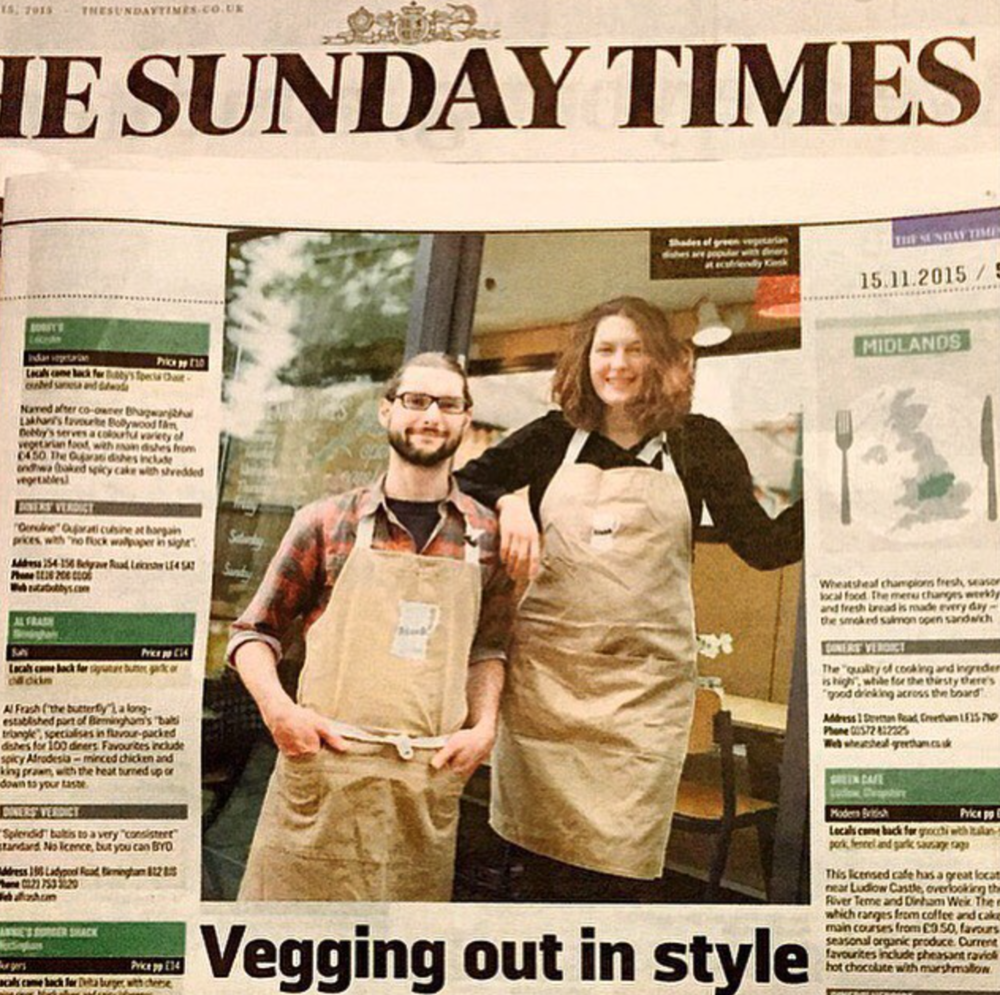 The Kiosk in The Sunday Times