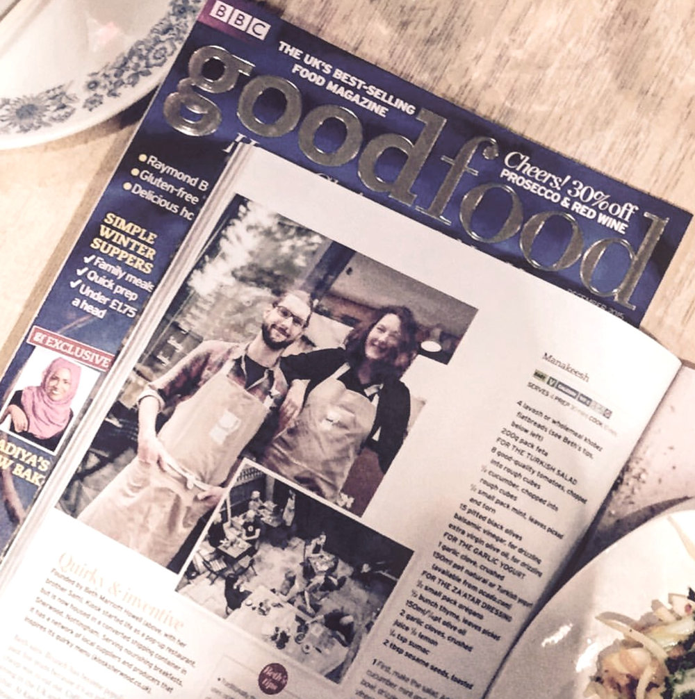 The Kiosk in Good Food Magazine
