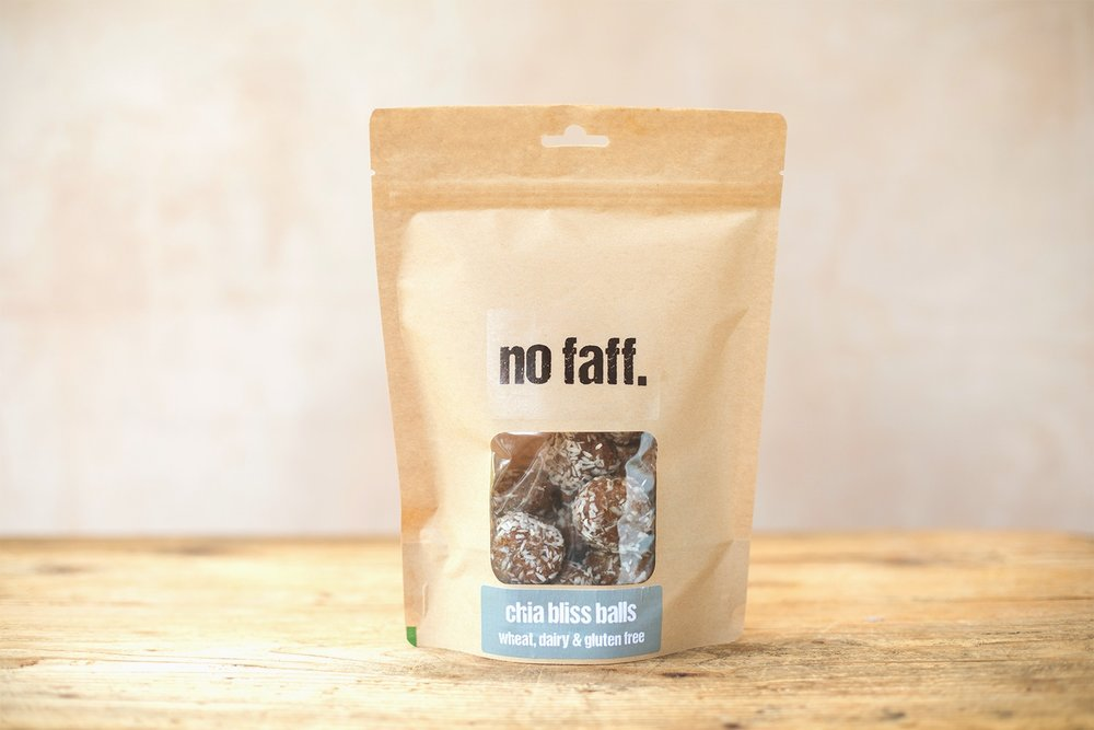 No Faff Bliss Balls Packet