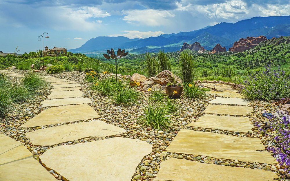 Flagstone - With multiple options for flagstone, both patio and select flagstone, it easy to change the landscape of your home for the better!