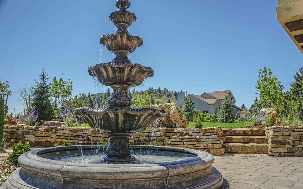 Fountains - C&C Sand and Stone Co. carries a full line of fountains and accessories, from very small to very large!