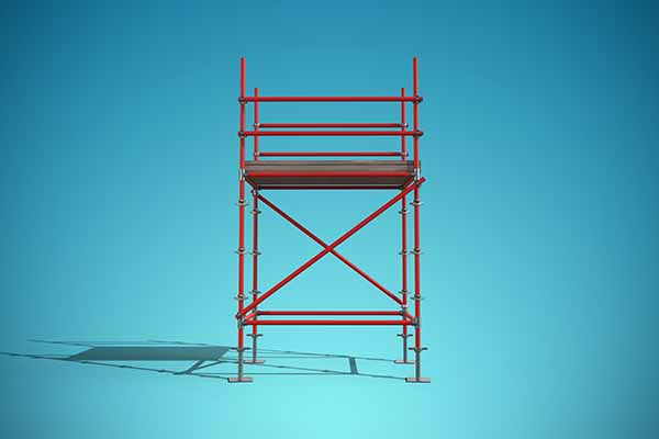 Scaffolding Frames - C&C Sand and Stone Co. supplies Colorado with a full line of scaffolding supplies. From H frames to A frames, we have it all.