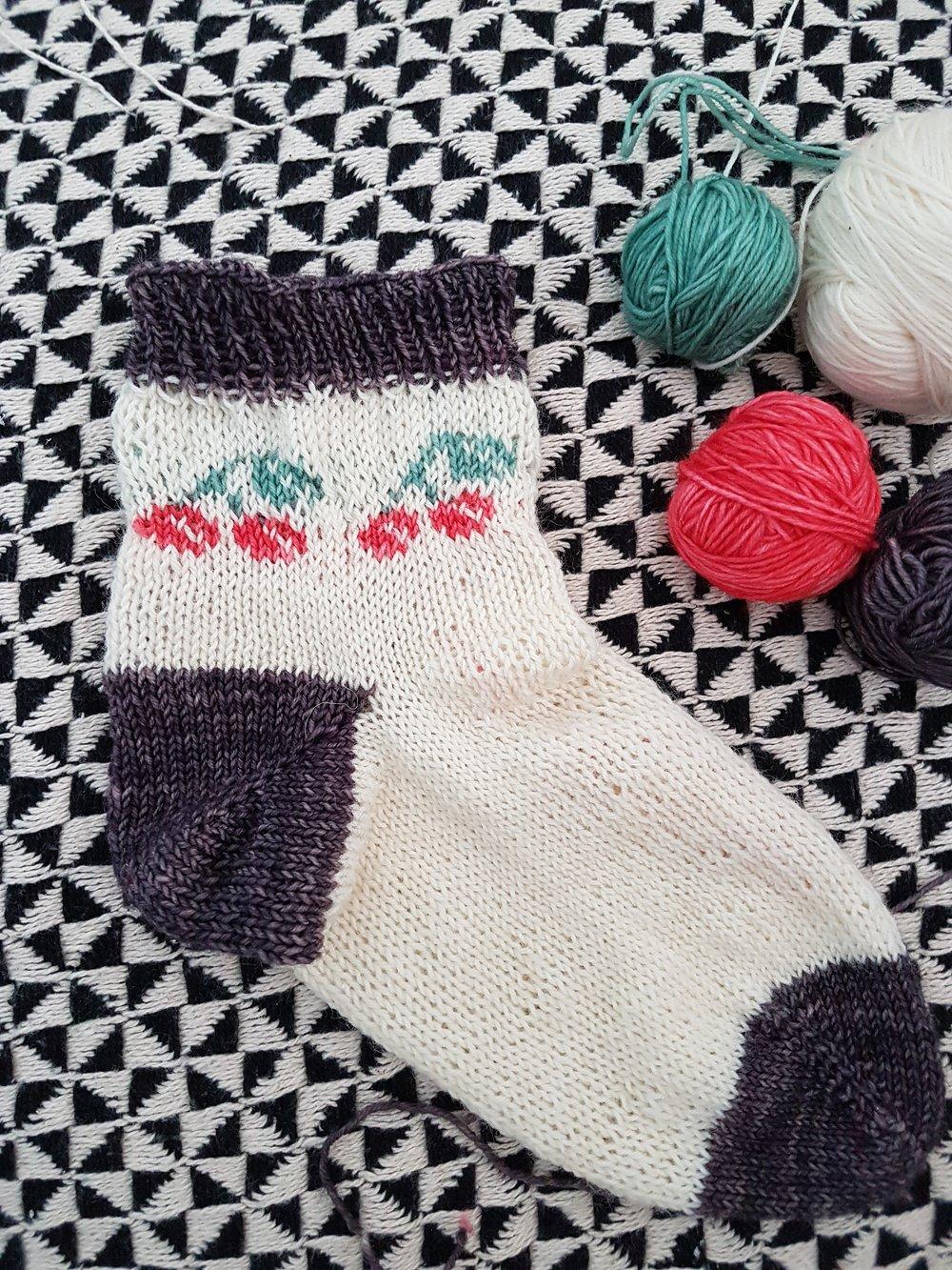 Les chaussettes de mai de Mes Lubies Laine