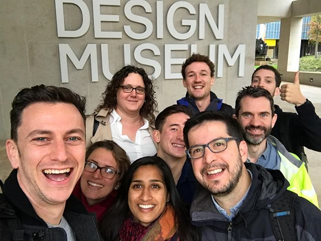Our UK Team headed over to @designmuseum this morning to get a first public glimpse at the Design of the Year 2017 exhibition. An amazing show. Lots of activists using design to address global problems and provoke dialogue. Our favourite? The BuffaloGrid Hub! Vote for us if you visit the exhibition.  #design #innovation #india #product #designoftheyear #hardware #iot #team #startup #london #vibes