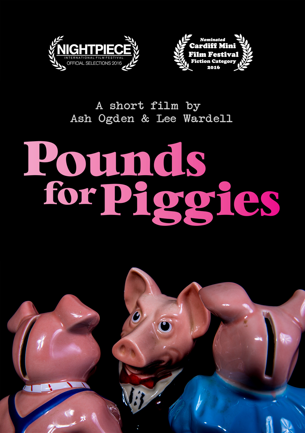 Pounds for Piggies Poster