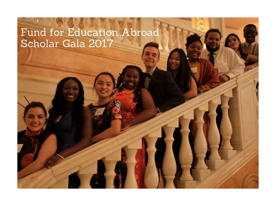 Fund for Education Abroad scholars share stories of their study abroad experiences at the annual FEA gala.