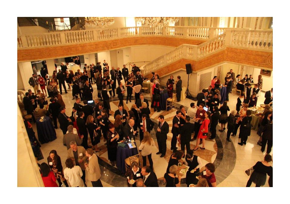 Supporters of the Fund for Education Abroad gather for the annual gala at the National Museum of Women in the Arts. FEA finances scholarships for minority, LGBTQI, first-generation, disabled and community college students, as well as veterans, returning learners, and students pursuing language instruction and non-traditional destinations.