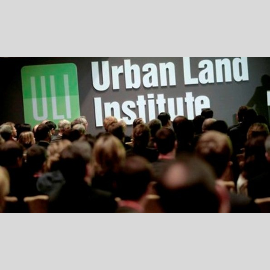 CONFERENCE PLANNING & PROMOTION    Urban Land Institute   Dialogo Transatlantico , Barcelona & European District Council, London