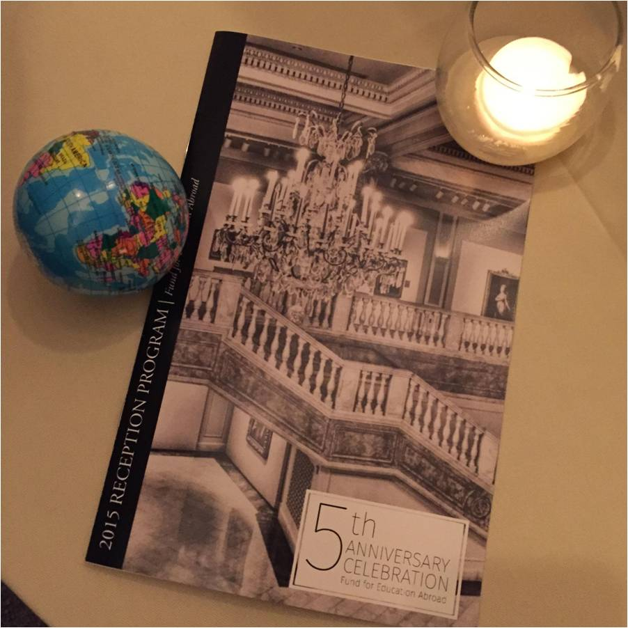 EVENTS   The  Fund for Education Abroad 's annual gala