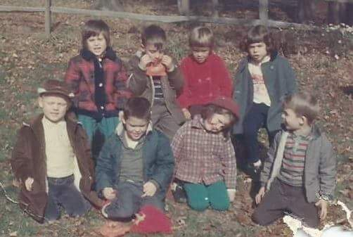 Immediately recognizable in the front row, Matt has barely changed. Nor have I, as I tilt my head, trying to see life from a different perspective.