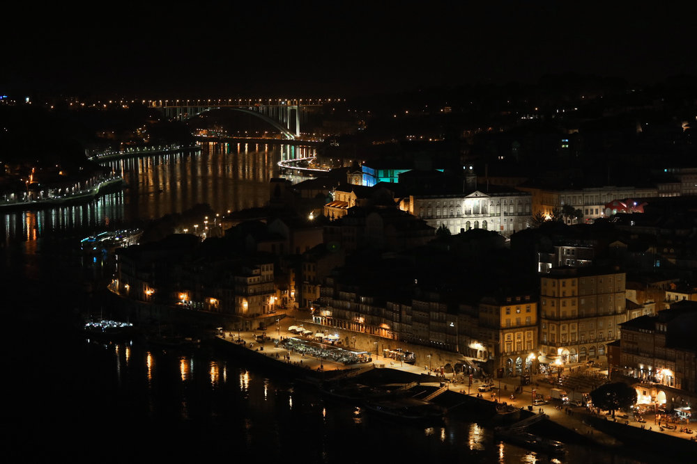 I shot this photo of Porto, Portugal and the Douro River at midnight going into my birthday, celebrating another lap around the sun. I'm committed to making each year a victory lap going forward, and the only way that will be possible is investing fully in each month, week and day.   Photo: Courtany Schick